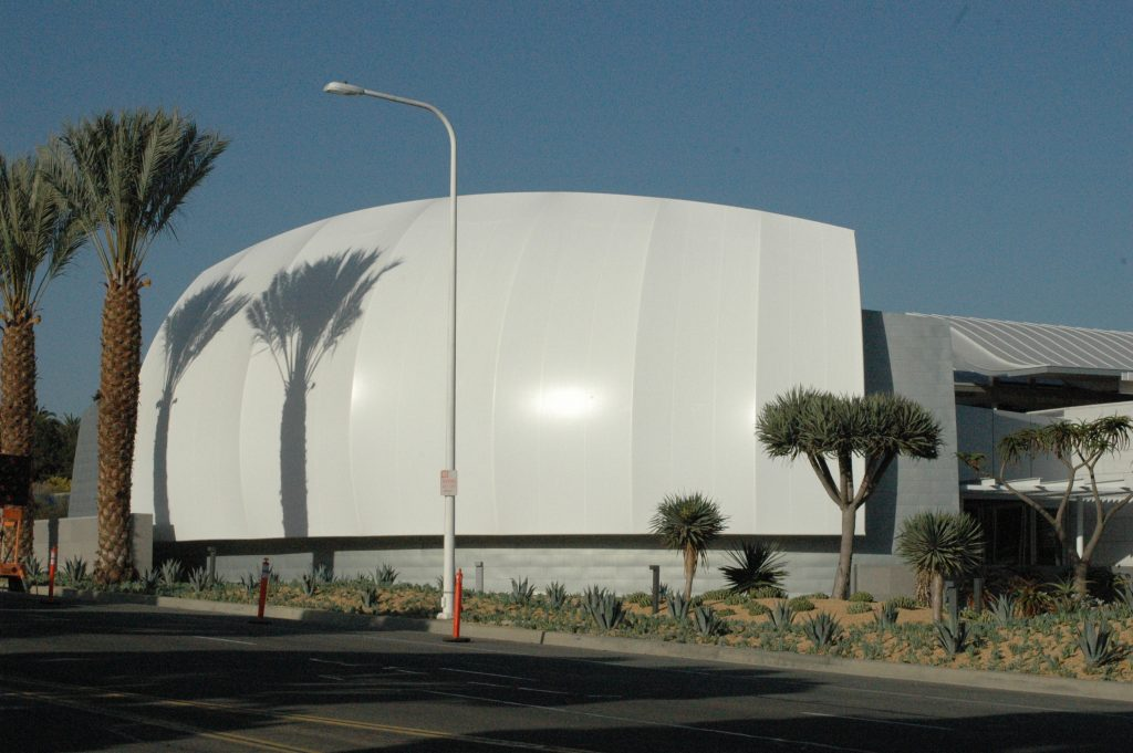Tensile Membrane Facades - Newport Civic Center