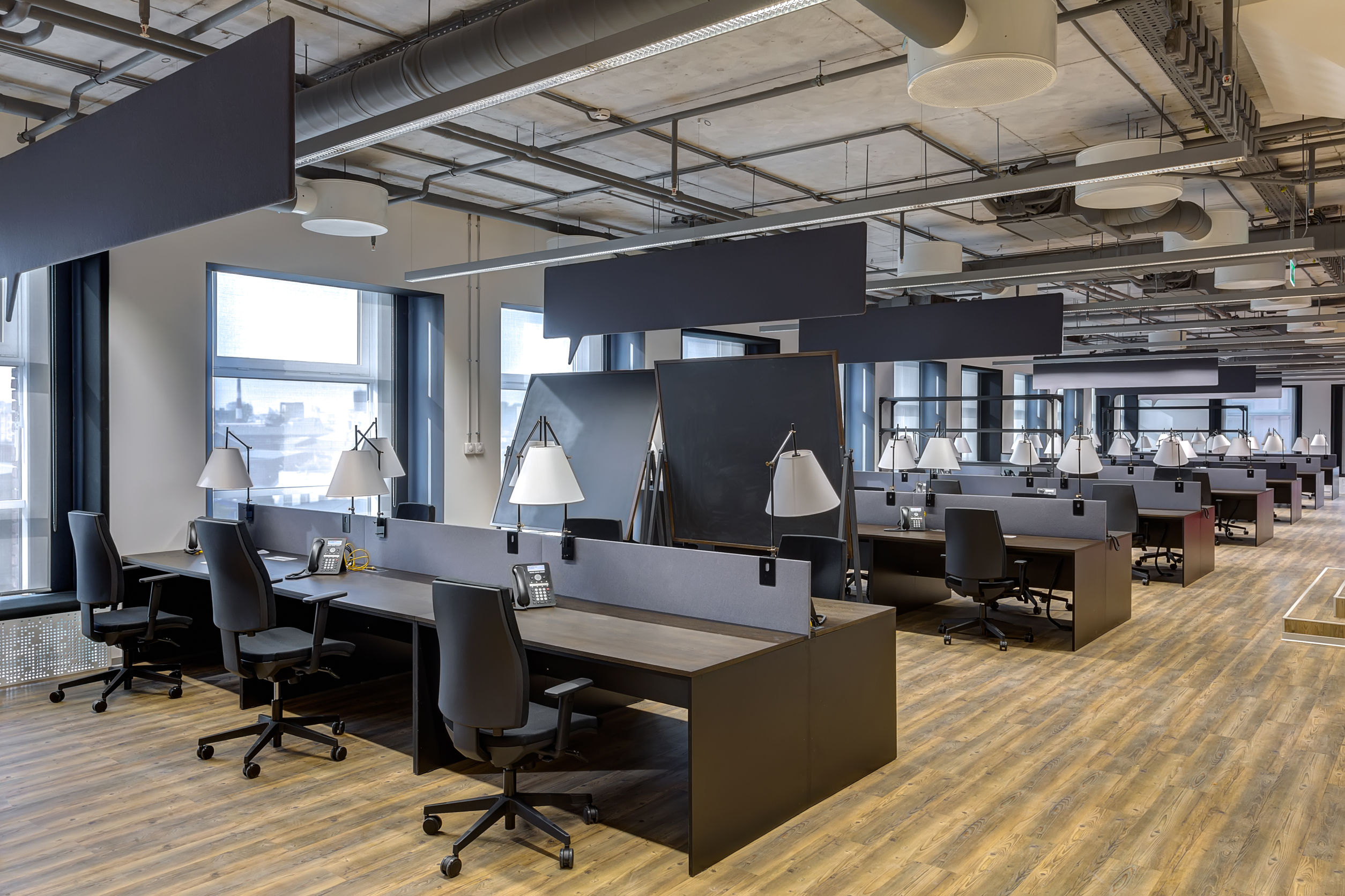 Natural Light & Textile Facades: Making a More Productive Workplace