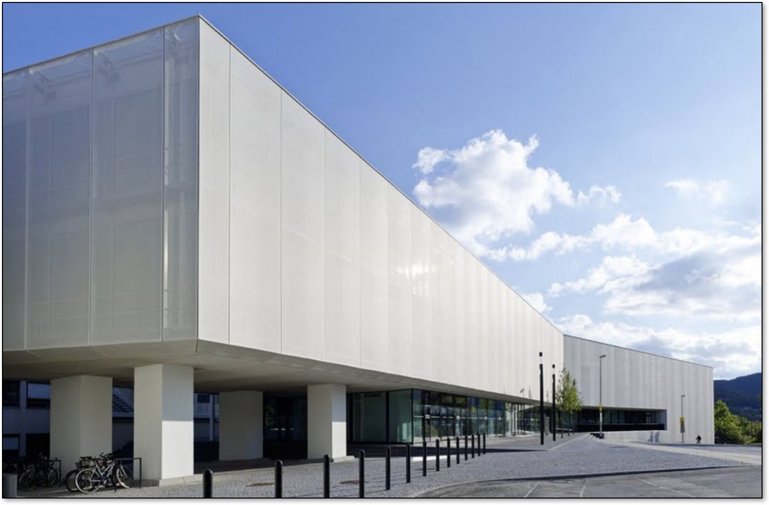 What Are the Key Benefits of a Ventilated & Shaded Fabric Mesh Facade?